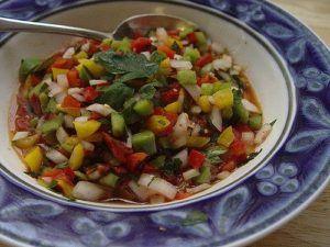 salsa criolla receta