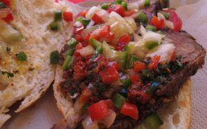 salsa criolla ingredientes