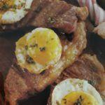 bife de chorizo con huevo