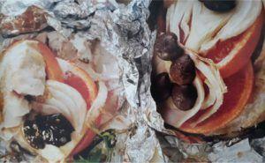 plato final salmon a la parrilla con pomelo