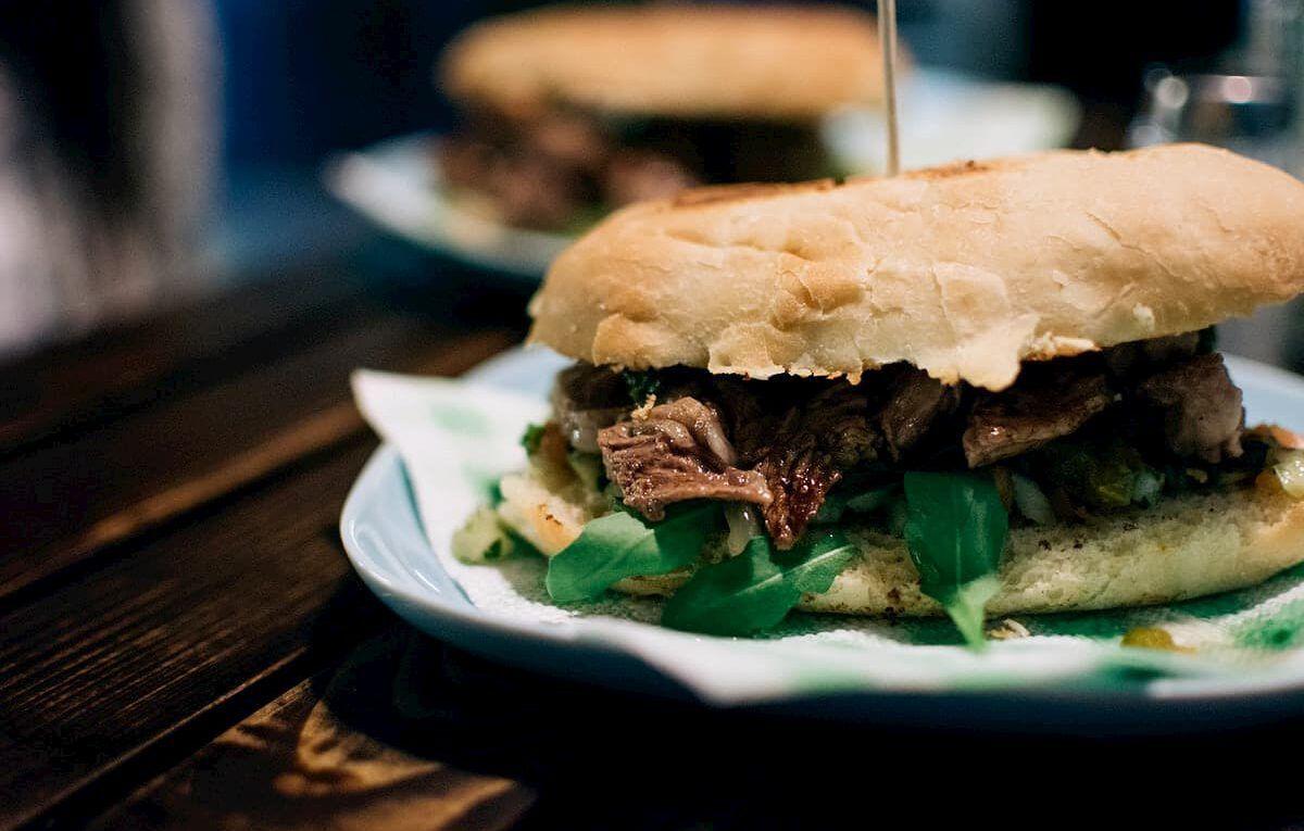 sandwich de vacío a la parrilla