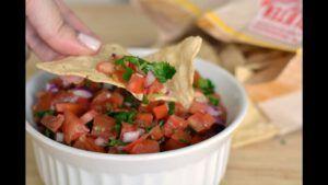 salsa pico de gallo ingredientes